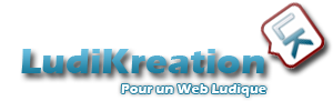 LOGO LudiKreation - Création de sites web